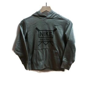 Boys Nike Basketball Hooded Sweatshirt.Size Small